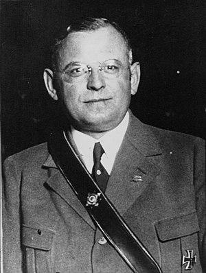 Franz Seldte - Reich Minister Seldte, 1933