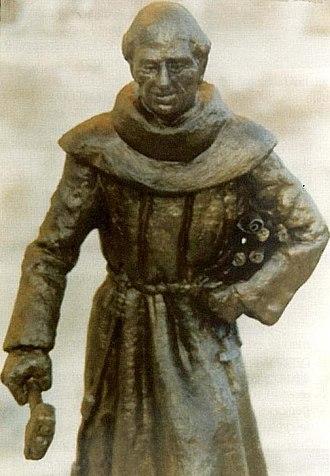 Antonio de Olivares - Monument to Antonio de Olivares in Texas
