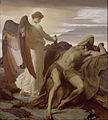 Frederic, Lord Leighton - Elijah in the Wilderness - Google Art Project.jpg