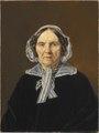 Frederikke Eleonora Cathrine Rørby, født de Stockfleth (1773-1851) (Martinus Rørbye) - Nationalmuseum - 97314.tif