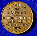 French Medal 1870 Battle of Loigny, obverse.jpg