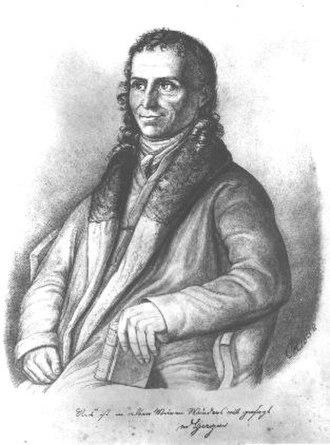 Angermünde - Friedrich Heinrich von der Hagen