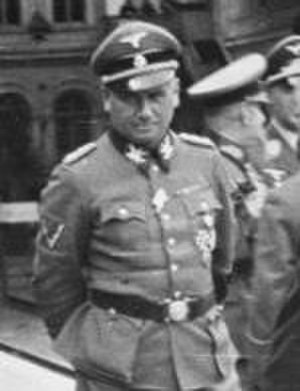 17th SS-Standarte - Friedrich Jeckeln served as the first commander of the 17th SS-Standarte.