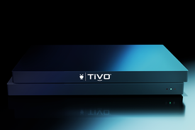 Front view of a TiVo EDGE DVR For Cable