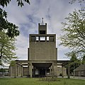 Frontopname van de kerktoren met portaaluitbouw - Amsterdam - 20409133 - RCE.jpg