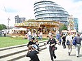 Funfair at the GLA Building - geograph.org.uk - 95739.jpg