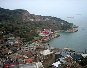 Matsu Islands - Nangan Township, the seat of Lienchiang County