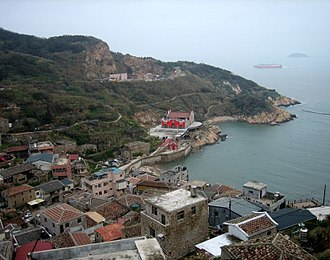 Matsu Islands - Nangan Township, the seat of Lienchiang County