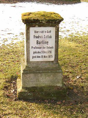 Friedrich Gottlieb Bartling - Grave of Friedrich Gottlieb Bartling in  Göttingen