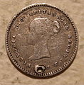 GREAT BRITAIN, VICTORIA -SILVER TUPPENCE, MAUNDY MONEY 1845 b - Flickr - woody1778a.jpg