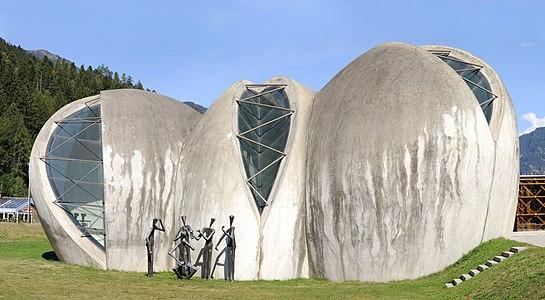Stone Church in Cazis, Switzerland