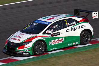 Gabriele Tarquini - Tarquini competing in the 2014 World Touring Car Championship