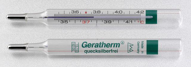 Galinstan Fieberthermometer