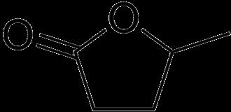 Gamma-Valerolactone - Image: Gamma valerolactone