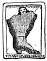 Gammal holländsk skomakarskylt (omkr 1630, ur Nordisk familjebok).png