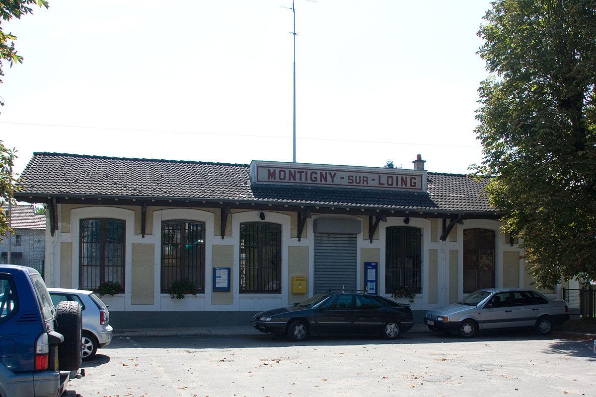 Gare de montigny sur loing wikip dia - Garage montigny sur loing ...