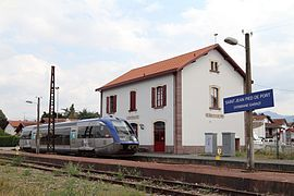 Ter aquitaine wikimonde - Train from bayonne to st jean pied de port ...