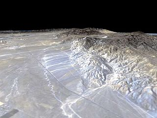 Garlock Fault geological fault in the Mojave Desert, California