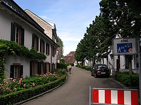 Village center, Gartengasse