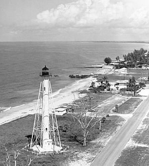 Boca Grande, Florida - Boca Grande Rear Range Light, now known as the Gasparilla Island Light