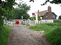 Gated level crossing - geograph.org.uk - 458428.jpg
