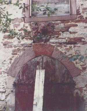 former Gauangelloch Castle (approx. 1980)