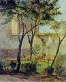Gauguin 1881 Un coin de jardin, rue Carcel.jpg