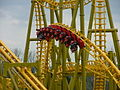 Gauntlet roller coaster, Magic Springs and Crystal Falls (2004).jpg