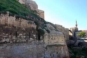 Gaziantep castle close.JPG