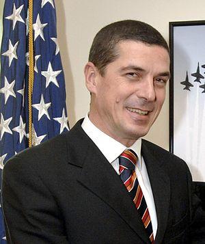 Deputy Prime Minister of Albania - Image: Gazmend Oketa 080522 D 9880W 017
