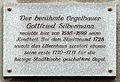 Gedenktafel Haingasse (Frauenstein) Gottfried Silbermann.jpg