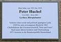 Gedenktafel Kreuznacher Str 52 (Wilmd) Peter Huchel.JPG