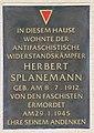 Gedenktafel Marie-Curie-Allee 112 Herbert Slanemann.JPG
