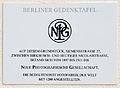 Gedenktafel Siemensstr 26a (Lankw) Neue Photographische Gesellschaft.jpg
