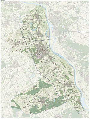Boxmeer - Dutch Topographic map of Boxmeer, June 2015