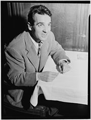 Gene Krupa, 400 Restaurant, New York, N.Y., ca. June 1946 (William P. Gottlieb 05451).jpg