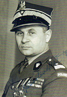 Bolesław Bronisław Duch Polish Major General and General Inspector of the Armed Forces