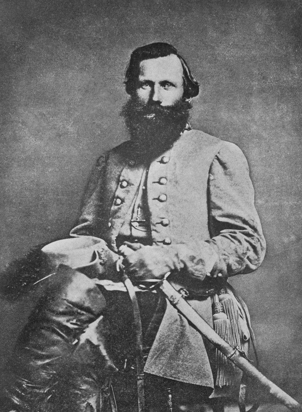 "General ""Jeb"" Stuart, Confederate States of America, 1863, 1961 - 1986 - NARA - 518135"