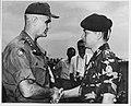 General William Westmoreland presents the Silver Star to General Cao Van Vien (USIA 67-0222).jpg