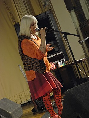 Genesis P-Orridge - P-Orridge performing with Throbbing Gristle in 2009