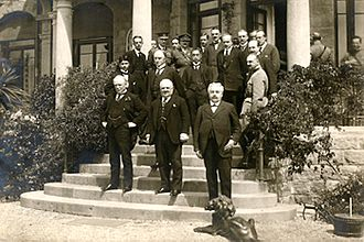 Genoa Conference (1922) - Participants at the 1922 Genoa Conference.