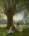 George Clausen - The spreading tree.jpg