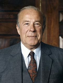 George Shultz American economist, statesman, businessman, and former Secretary of Labor, Treasury, and State