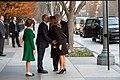 George W. Bush kisses Melania Trump.jpg