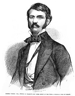 George Wilkes 19th-century American journalist and writer