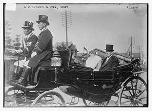 George W. Guthrie - George Wilkins Guthrie and wife Florence Julia Howe Guthrie in Japan in 1915