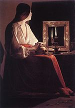 Georges de La Tour - The Penitent Magdalen - WGA12339.jpg