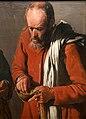 Georges de la tour, coppia di contadini che mangiano piselli, 1622-25 ca. 03.jpg