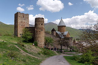 Georgia Georgian Military Road Ananuri castle IMG 8804 1920.jpg