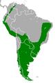 Geranoaetus melanoleucus range map.PNG
